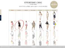 BANANA REPUBLIC EVERYDAY CHIC 30 DAYS CLOSET