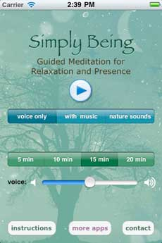 Simply Being – Guided Meditation for Relaxation and Presence